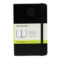 Moleskine Pocket Notebook with Debossed Seal, Unruled