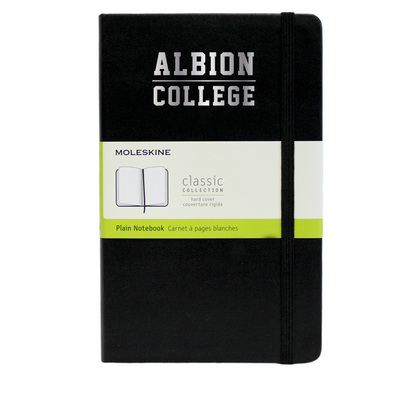 Moleskine Large Notebook with Foil Stamped School Name, Unruled