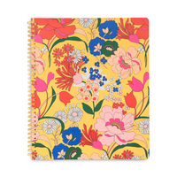 Bando Rough draft large notebook, superbloom sunshine