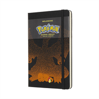 Moleskine Limited Edition Notebook, Pokemon, Charmender, Large with Ruled pages