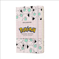Moleskine Limited Edition Notebook, Pokemon, Jigglypuff, Pocket with Ruled pages
