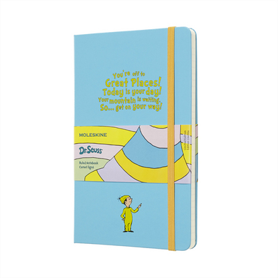 Moleskine Limited Edition Notebook, Dr. Seuss, White, Large with Ruled pages