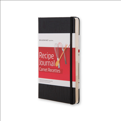Moleskine Passion Journal, Recipe, Large, Hard Cover