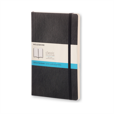 Moleskine Classic Notebook, XL, Dotted, Black, Soft Cover
