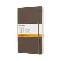 Moleskine Classic Notebook, XL, Ruled, Scarlt Red, Soft Cover