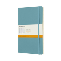 Moleskine Classic Notebook, Pocket, Ruled, Black, Soft Cover