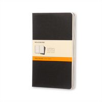 Moleskine Cahier Journal (Set of 3), XXL, Ruled, Kraft Brown, Soft Cover