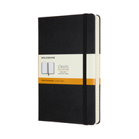 Moleskine Classic Notebook, Expanded,Large, Ruled, Black, Hard Cover