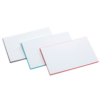 Oxford Dot Grid Index Cards 3 X 5 50Pack