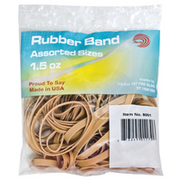 Rubberband Natural 15 Oz