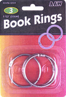 Book Rings-For Loose Leaf