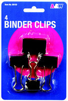Avantix 34 Binder Clips, 12 Count