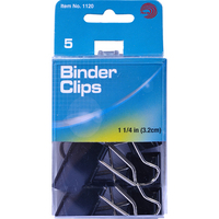 Avantix Binder Clips 114 5Ct