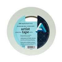 Art Alternatives Artist Tape, 34 Wide x 60 yds, White