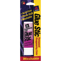 Avery Glue Stic Washable Nontoxic Permanent Adhesive 0.26 oz. 1 Stick