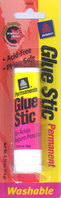 Avery Glue Stic Washable, Nontoxic, Permanent Adhesive 0.26 oz