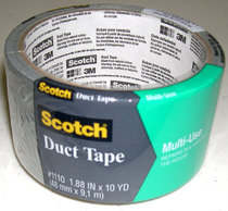 Scotch MultiUse Duct Tape, 1.88 in x 10 yd