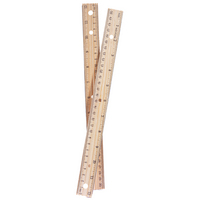 Avantix 12in Wood Ruler