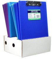 Plastic Clipboards Letter Size Assorted Colors