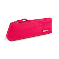 Poppin Pink  Aqua Pencil Pouch