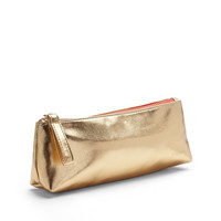 Poppin Gold  Coral Pencil Pouch