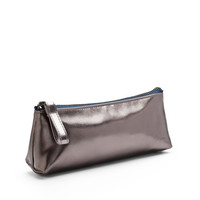 Poppin Gunmetal  Navy Pencil Pouch
