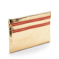 Poppin Gold Slim Accessory Pouch