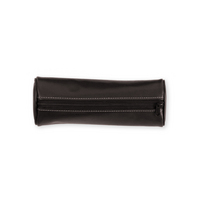 Pu Pencil case, chocolat
