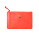 Crimson Strawberry Luxury Soft Touch Pouch