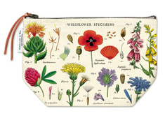 Vintage Pouch  Wildflowers