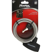 Master Lock Keyed Cable Bike Lock 5FT