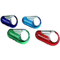 Master Lock 1548DCM Set Your Own Combination Backpack Lock Assorted Colors