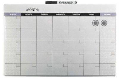 University Of Tampa Calendar.11x14 Dry Erase 1 Month Calendar Asst The University Of Tampa