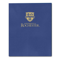 Imprinted Embossed Pocket Folder 11x8.5 Capacity