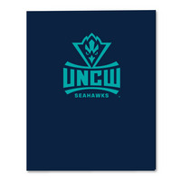 Foil  imprinted Laminated 2  pocket Portfolio, 11.75 x 9.5