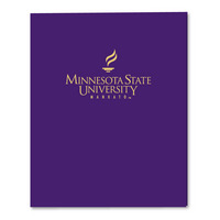 Imprinted Laminated Pocket Folder 11x8.5 Capacity