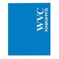 Imprinted Laminated Pocket Folder 11x8.5 Capacity (Incarcerated Approved)