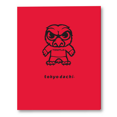 Imprinted Laminated Folder, Tokyodachi Design