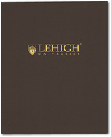 Imprinted Linen Finish Pocket Folder 11x8.5 Capacity