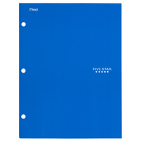 Five Star 4Pocket Paper Folder, Assorted Colors