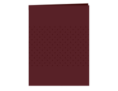 Folder, Burgandy (Exclusive)