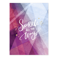 Pierre Belvedere Sparkle all the Way Folder 9x12