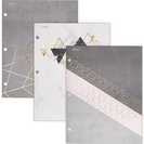 Mead Modern Chic 2Pocket Paper Folder, Assorted Designs