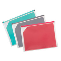 ZIP ENVELOPE WDIVIDER LETTER 12pc ASST