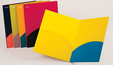Oxford Poly Twisted Twin Pocket Folder, Letter Size, Assorted Colors