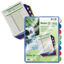 Better Binder Dividers with 8 Index Tabs