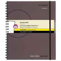 ATAGLANCE Plan.Write.Remember. Academic WeeklyMonthly Appointment BookPlanner, Assorted Colors