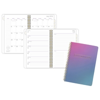 ATAGLANCE Ariel Premium Academic WeeklyMonthly Planner, Multicolor