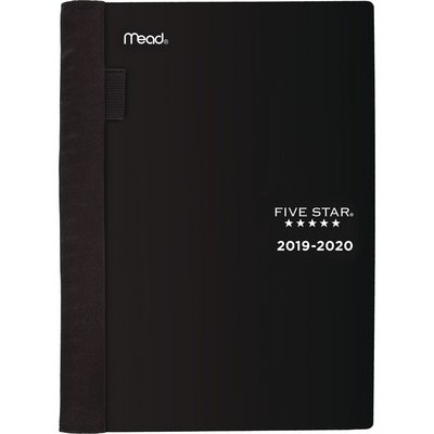 Five Star Advance AY WklyMnthly 1920 Black Planner