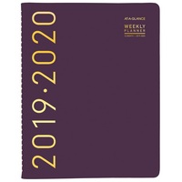 Contemporary Academic WeeklyMonthly Appointment BookPlanner